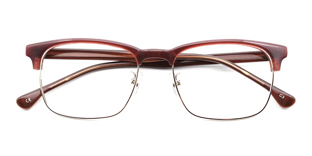 Alyssa Cheap Eyeglasses Brown