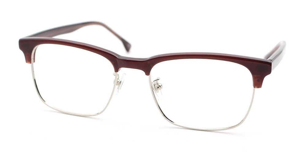 Alyssa Discount Eyeglasses Brown