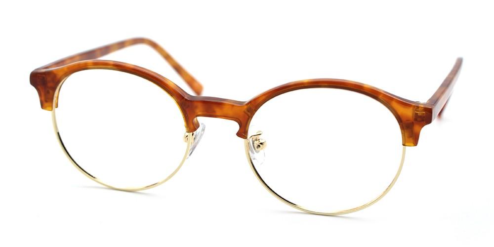 Reagan Discount Eyeglasses Demi Amber