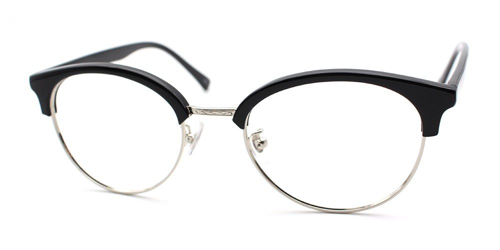Elena Discount Eyeglasses Black