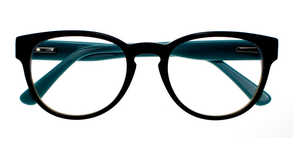 Auberry Eyeglasses Black Blue