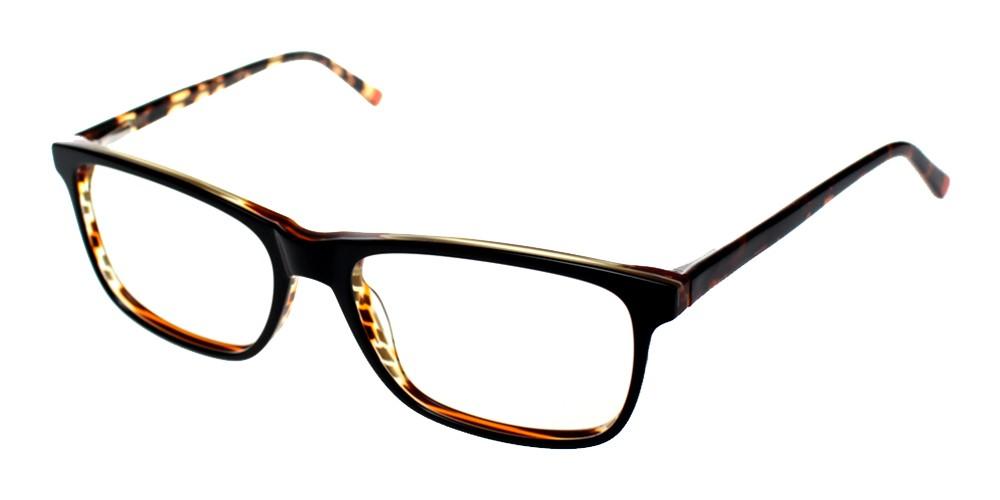 Alhambra Discount Eyeglasses Black Demi