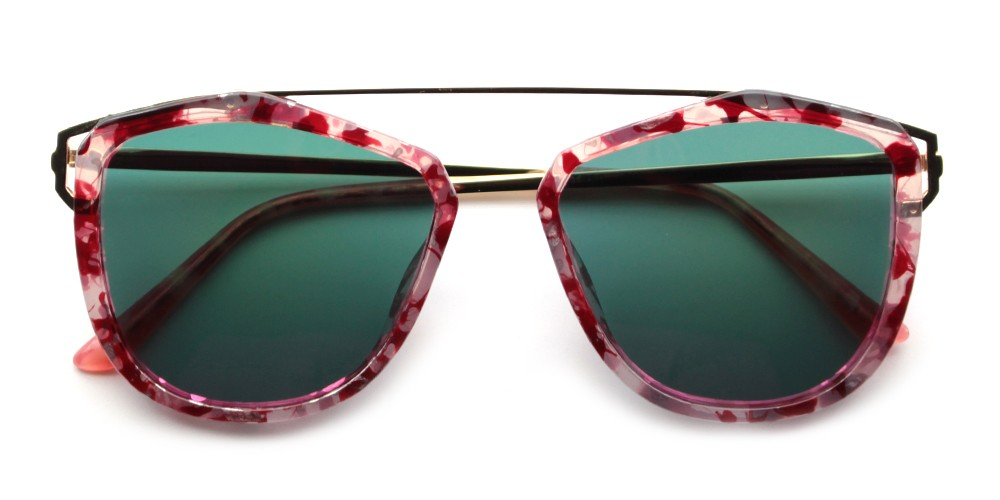 Violet Fashion Prescription Sunglasses Pink