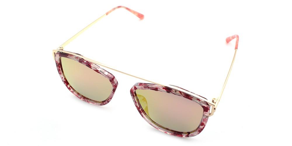 Violet Discount Prescription Sunglasses Pink